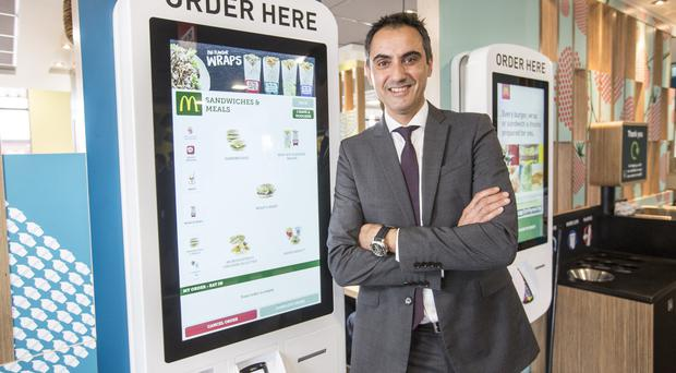 Richard Forte, vice president of McDonald's UK