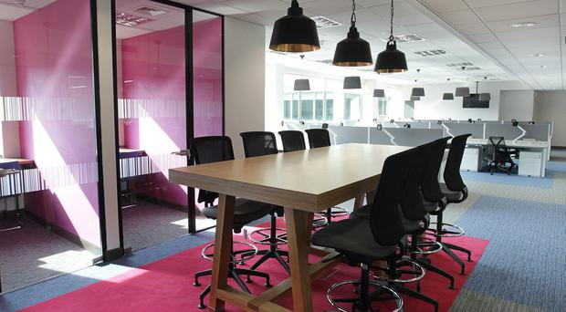 Big business: Mac Interiors has secured a number of major contracts, involving the refurbishment of office space for a variety of big businesses, including KPMG, Citi and Diageo