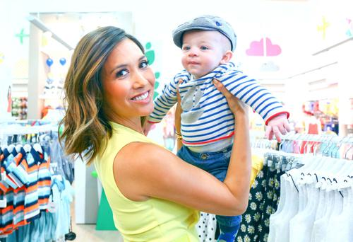 TV star Myleene Klass helps to open Mothercare in Lisburn in May