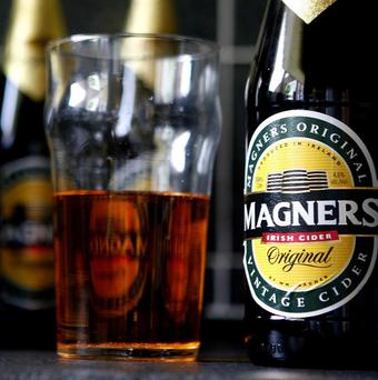 Sales of Magners have slumped by 17% after the cider brand lost market share and felt the impact of supermarket price wars