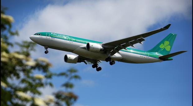Aer Lingus is due to announce profits for the third quarter of its financial year today