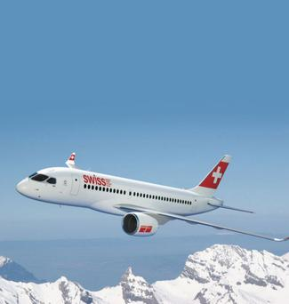 Swissair was one of the first carriers to place an order for Bombardier's CSeries jet