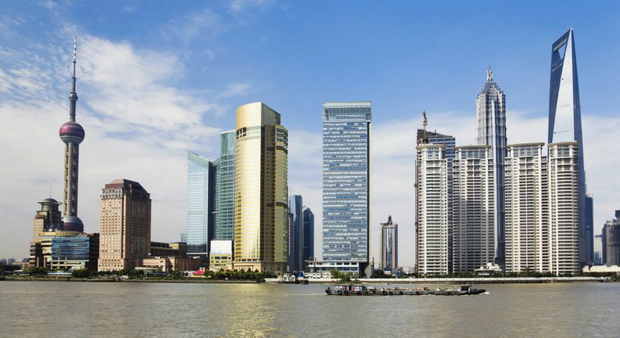 The impressive skyline of the city of Shanghai which will be hosting Food Hotel China