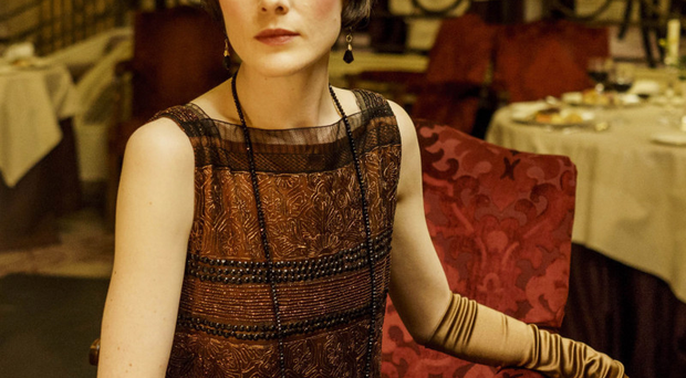 Popular shows: Michelle Dockery as Lady Mary in hit period drama Downton Abbey.
