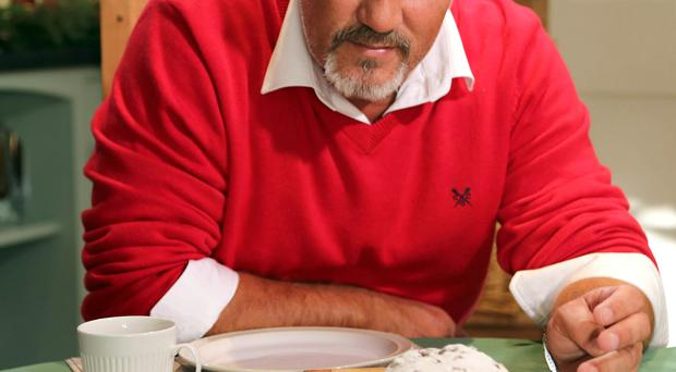 Great British Bake Off Christmas Special 2013...Programme Name: Great British Bake Off Christmas Special 2013 - TX: 17/12/2013 - Episode: n/a (No. n/a) - Embargoed for publication until: n/a - Picture Shows: Paul Hollywood - (C) Love Productions - Photographer: Production...high_res