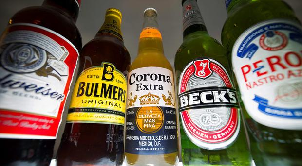 Deal: The world's top two brewers have formally agreed a £71bn tie-up