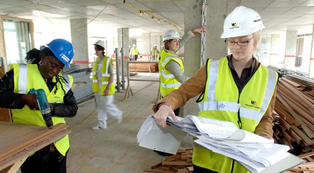Men outnumber women three to one in engineering sector