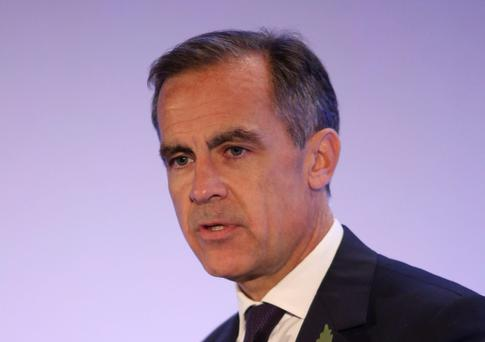 Bank chief: Mark Carney
