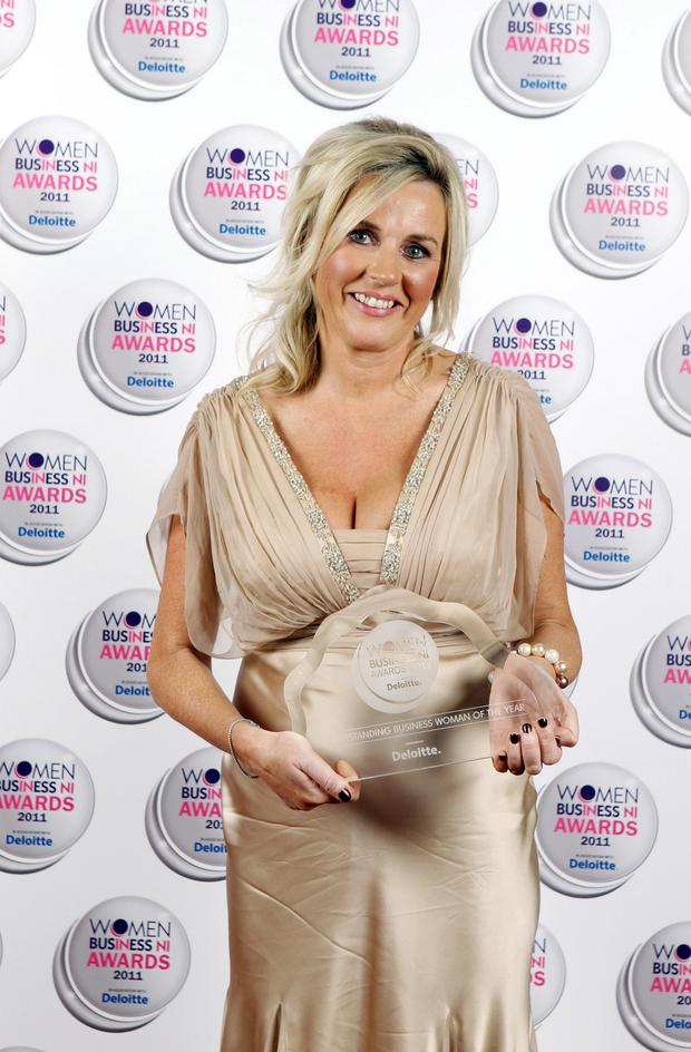 Orla Corr wins Business Woman of the Year at the 2011 Women in Business NI Awards
