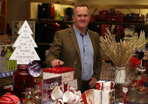 Stephen McCammon, Menarys director, at the Bow Street Mall store in Lisburn