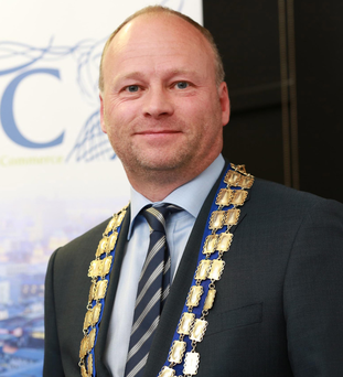 Hugh Black, president of Belfast Chamber of Trade & Commerce