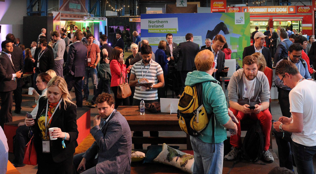 Crowds at last year's Moneyconf at the T13 in Belfast, but event organiser Paddy Cosgrave has confirmed that it will not be returning this year