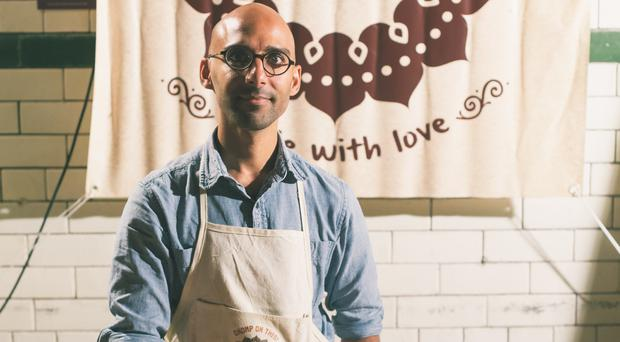 Kumar Kolar of Karkli was inspired by his family's cooking