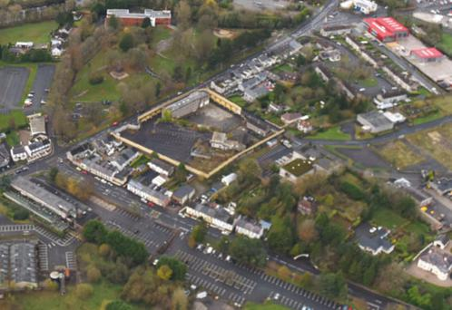 The site at Mountjoy Road is up for sale