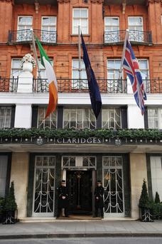 The luxury five-star Claridges in the West End of London