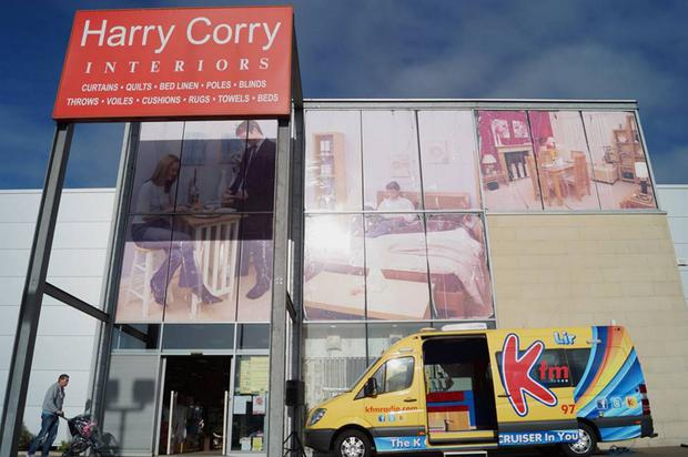 Harry Corry operates 17 stores across Northern Ireland