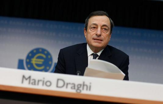 European Central Bank president Mario Draghi has reduced its interest rate target