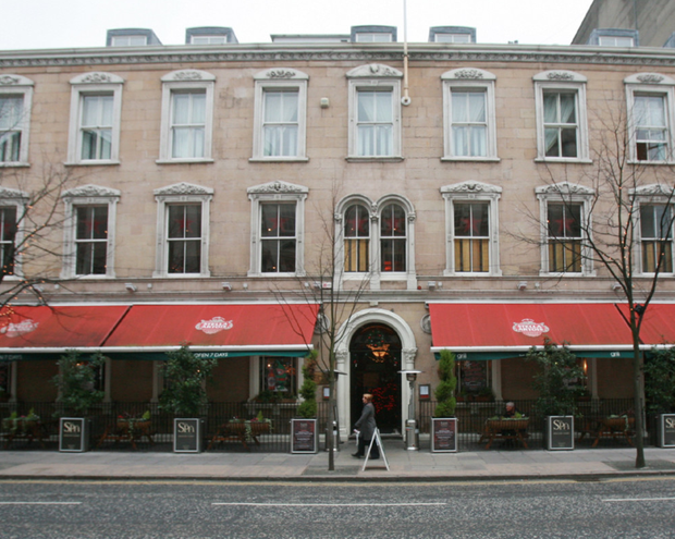 Belfast hotel Ten Square was sold to property developer Paddy Kearney for slightly more than £6m