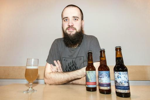 Boundary Brewing's Matthew Dick was confident he could secure the funds required for his plans