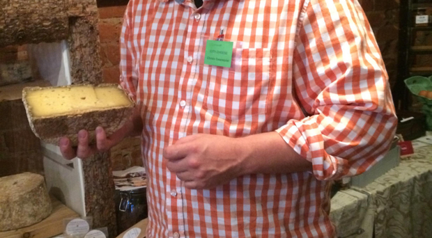 NI-based cheese maker Christo Swanepoel