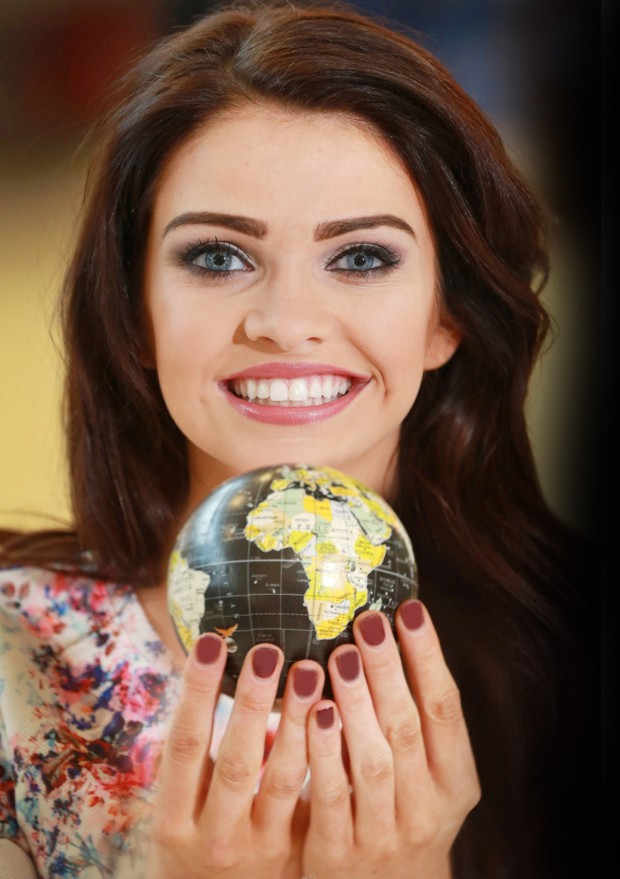 Anna Henry has a whole world of options at her fingertips as she launches the Belfast Telegraph Holiday World Show