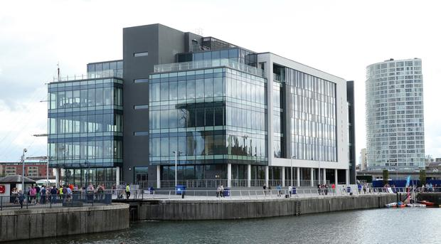 Cayan will take up two floors of the development, which is owned by Belfast Harbour