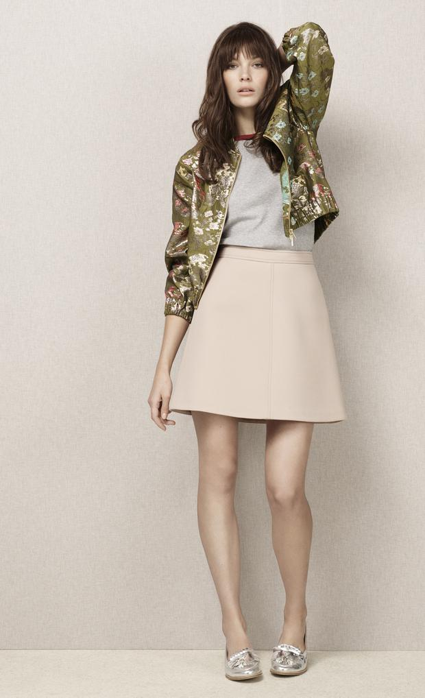 Limited Edition jacket £59, top £15, skirt £45, shoes £35