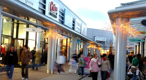 Popular shopping spot Junction One in Antrim is one of the retail parks to be sold to the Lotus Group
