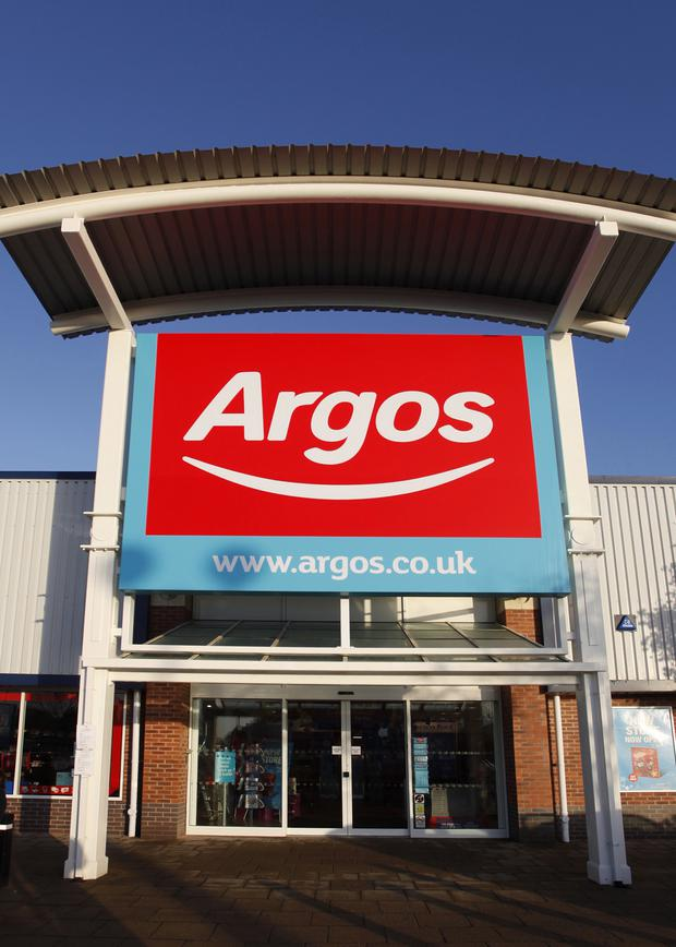 Home Retail posted a 2.2% fall in sales at established Argos stores
