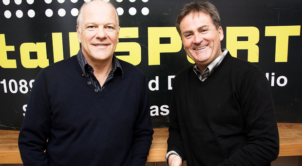 Former Talksport presenters Andy Gray and Richard Keys