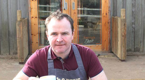 Donal Doherty manager of Harry's Shack