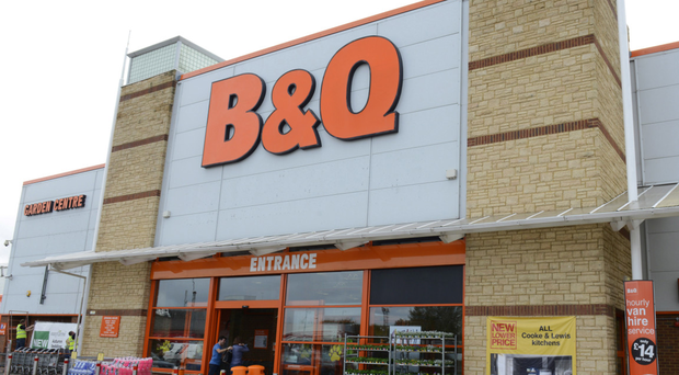 Five of nine B&Q stores in Northern Ireland face closure