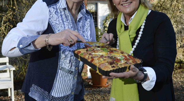 Dame Mary Peters and Jenny Bristow