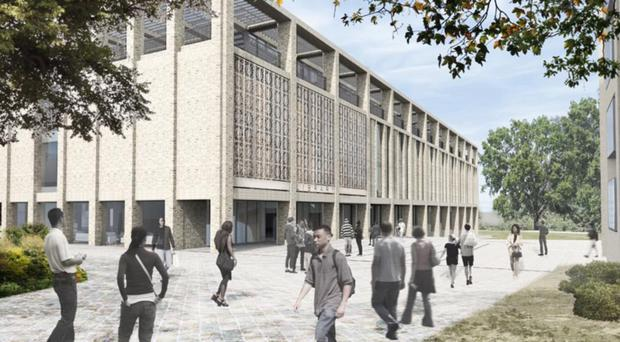 What the new library at the University of Roehampton will look like