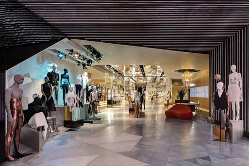 Trainor Stone and Tile works on store fit-outs for the upmarket fashion retailer Harvey Nichols