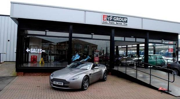 J and F Motors in Mallusk sells around 750 vehicles each year