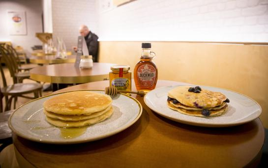 Pancakes will take pride of place on the menu today at Yahi