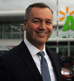 Andy Clarke, CEO of Asda, faces a challenging time