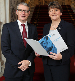 Richard Gray and Arlene Foster