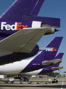 FedEx opened a hub in Carrickfergus in 2011