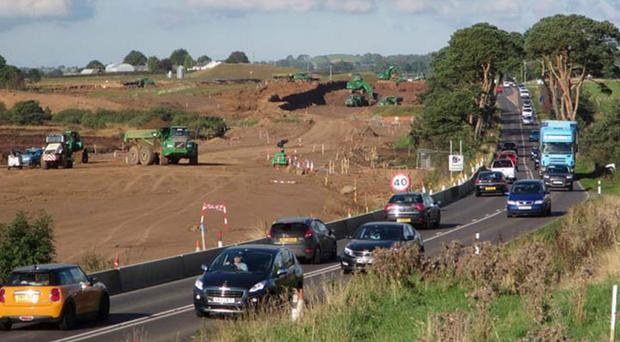 FP McCann is working on the dualling of the A26 in Co Antrim