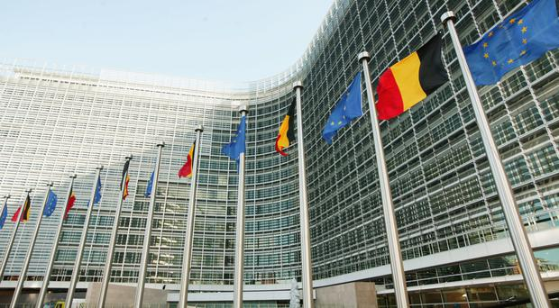 The European Commission building in Brussels