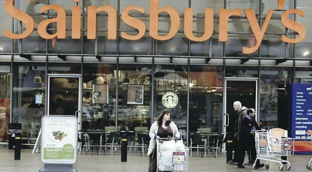 Sainsbury's has stepped up its performance after posting its first quarterly like-for-like sales growth for more than two years.