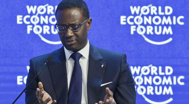 Credit Suisse chief executive Tidjane Thiam said the firm is 'well positioned for profitable growth in our chosen markets' (AP)