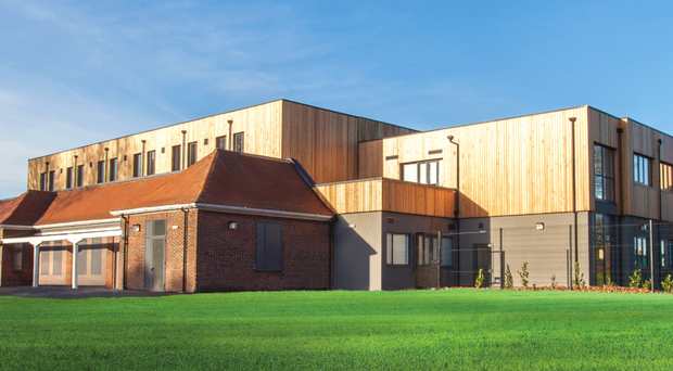 Grindon School, one of the major projects undertaken by the McAvoy group