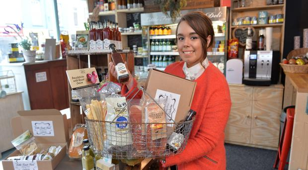 Hannah Wilson works in Little French Barn, which opened in Lisburn