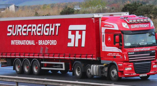 Surefreight was set up in 1989 with just two lorries