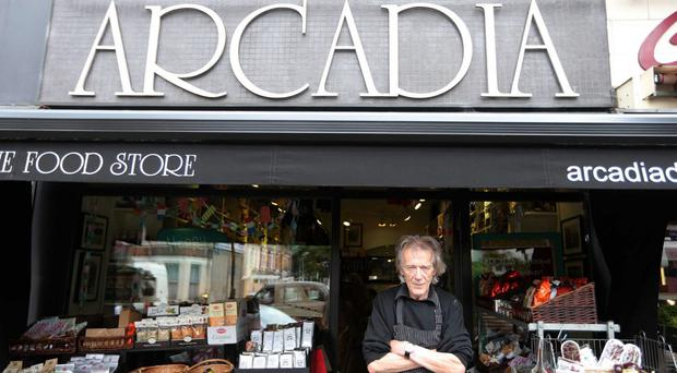Lisburn Road traders Mark Brown of the Arcadia deli