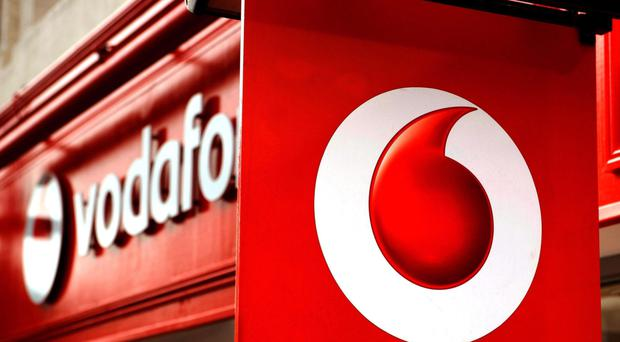 Vodafone cited a change in billing