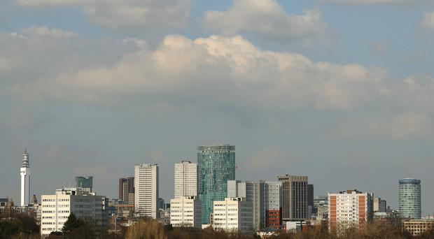 A study by Aviva has found that Birmingham is the country's